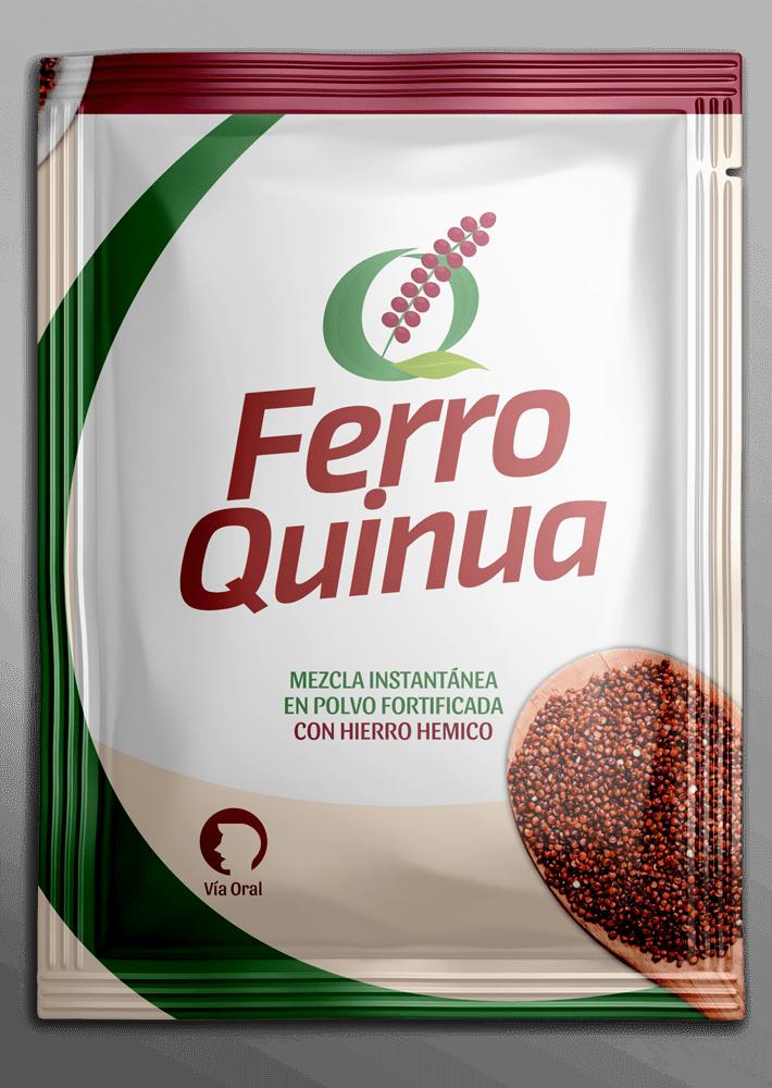 sachet de ferro quinua